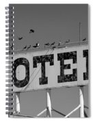 Motel For The Birds Spiral Notebook