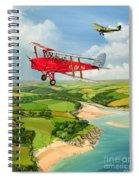 Mothecombe Moths Spiral Notebook