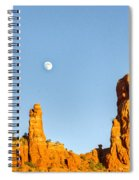 Mother And Child And Moon 21 Spiral Notebook
