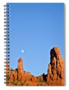 Mother And Child And Moon Spiral Notebook