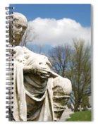 Mother And Children Spiral Notebook