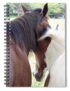 Mother And Daughter Private Moment Spiral Notebook