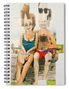 Mother And Father Spiral Notebook