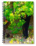 Mother Bear And Cub Spiral Notebook