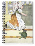 Mother Goose, 1916 Spiral Notebook