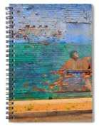 City Mural - Mother Mary Spiral Notebook