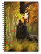 Mother Nature And Her White Horse Spiral Notebook