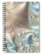 Mother Of Pearl - A Fractal Abstract Spiral Notebook
