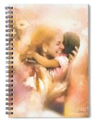 Mother's Arms Spiral Notebook