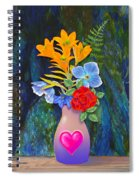 Mothers Day Bouquet Spiral Notebook