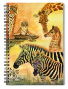 Mother's Day In The Wild Kingdom Spiral Notebook
