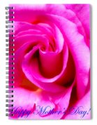 Mother's Day Rose Spiral Notebook
