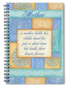 Mother's Day Spa Card Spiral Notebook
