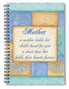 Mother's Day Spa Spiral Notebook