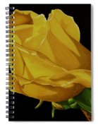 Mother's Yellow Rose Spiral Notebook