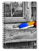 Motif Number One Sunrise Reflections Bw Spiral Notebook