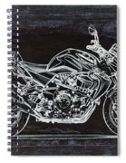 Moto Art 41 Spiral Notebook