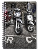 Motor Cycles Spiral Notebook