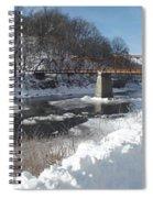 Motor Mill Pano Spiral Notebook