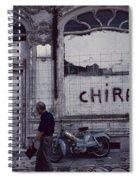 Motorbike France Spiral Notebook