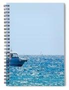 Motorboat Spiral Notebook