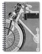 Motorcycle, 1898 Spiral Notebook