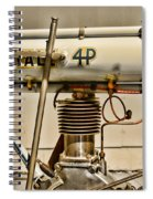 Motorcycle - 1911 Yale 4hp Spiral Notebook