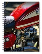 Motorcycle - 1974 Honda Cl 125 Scrambler Spiral Notebook