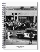 Motorcycle Rally Hollister California July 4, 1947 Spiral Notebook