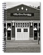 Motordrome Garage Spiral Notebook