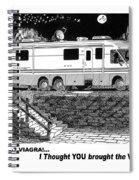Motorhome Viagra Moonlight R V Camping Spiral Notebook
