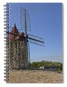 Moulin De Daudet Fontvieille France Dsc01833 Spiral Notebook