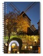 Moulin De La Galette Spiral Notebook