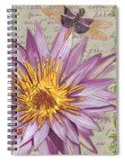 Moulin Floral 1 Spiral Notebook
