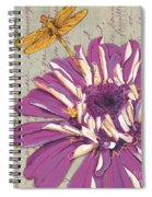 Moulin Floral 2 Spiral Notebook