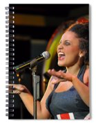 Moulin Rouge Theatre -  What A Voice Spiral Notebook