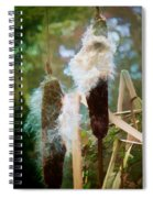 Moulting Spiral Notebook