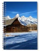 Moulton Barn Closeup Spiral Notebook
