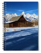Moulton Barn Landscape Spiral Notebook