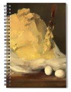 Mound Of Butter Spiral Notebook