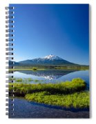 Mount Bachelor And Sparks Lake Spiral Notebook