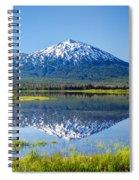 Mount Bachelor Reflection Spiral Notebook