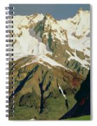 Mount Blanc Mountains Spiral Notebook