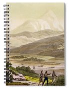 Mount Cayambe, Ecuador, From Le Costume Spiral Notebook