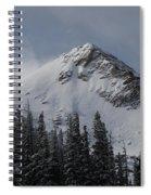 Mount Crested Butte 3 Spiral Notebook