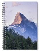 Mount Denman In Desolation Sound Marine Spiral Notebook