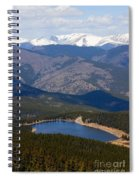 Mount Evans And Echo Lake Spiral Notebook
