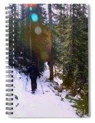 Mount Evans Spiral Notebook