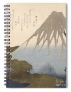 Mount Fuji Under The Snow Spiral Notebook