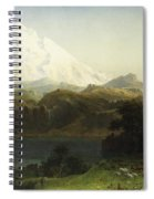 Mount Hood In Oregon Spiral Notebook